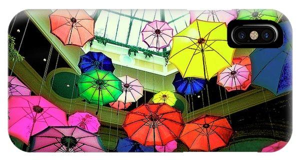 Floating Umbrellas In Las Vegas  IPhone Case