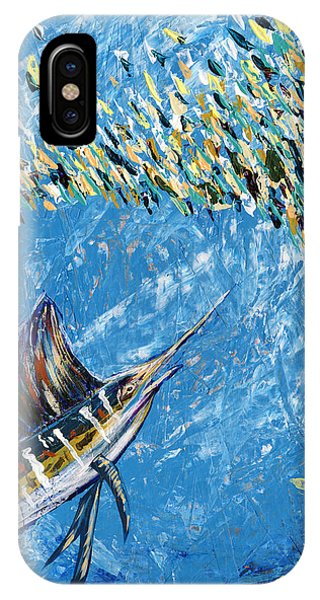 Midnite iPhone Case - Sailfish Lunch by Lovejoy