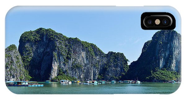Floating Village Ha Long Bay IPhone Case