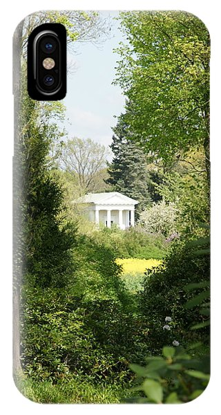 Flora Temple Phone Case by Olaf Christian