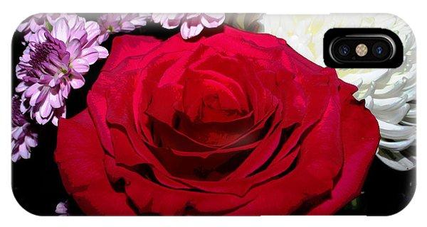 Floral Arrangement - Posterized IPhone Case