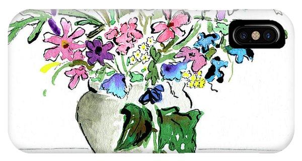 Floral Vase IPhone Case