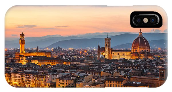 Florence At Dusk IPhone Case