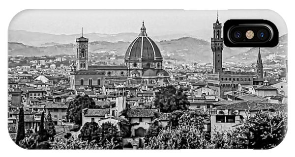 Florence Bw IPhone Case