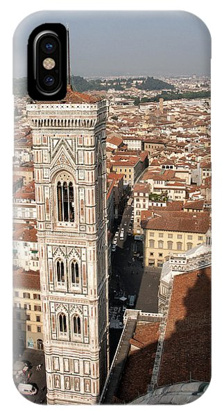 Florence From The Top Of Brunelleschi's Dome IPhone Case