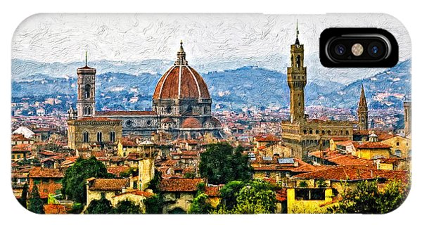 Florence Impasto IPhone Case