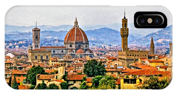 Florence - Oil IPhone Case