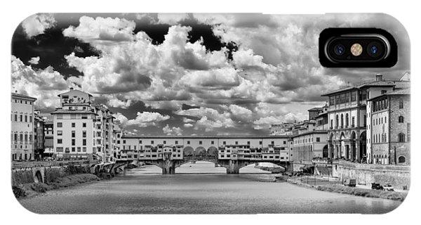 Florence Old Bridge IPhone Case