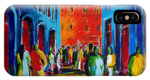 Fauvism iPhone Case - Florence Sunset by Mona Edulesco