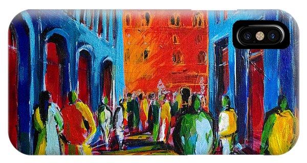 Palace iPhone Case - Florence Sunset by Mona Edulesco