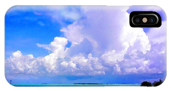 Florida Bay At Shell Pass Filtered IPhone Case