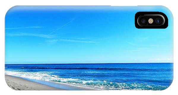 Florida Beach Phone Case by Yvonne Aguero