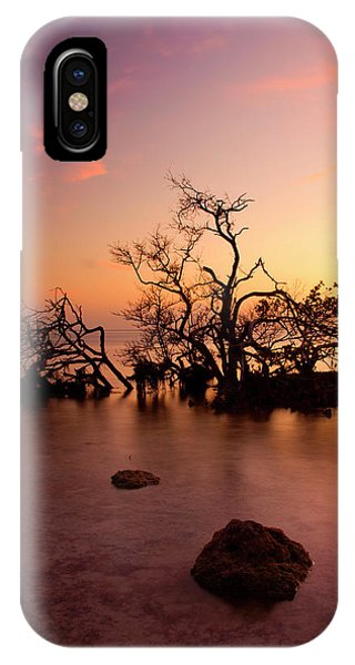 Carribbean iPhone Case - Florida Keys Sunset by Mike  Dawson