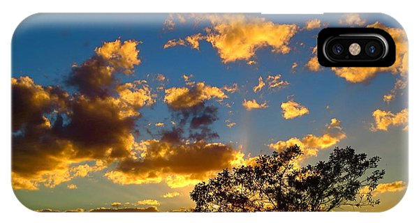 Florida. Loxahatchee Landscape At Sunset 5. IPhone Case
