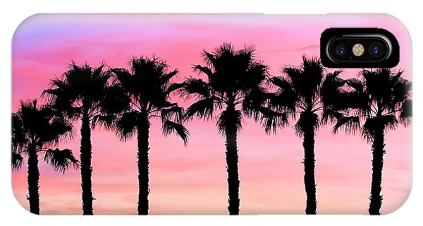 Florida Palm Trees IPhone Case