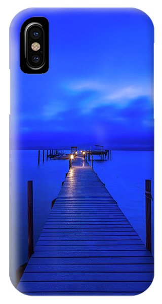 iPhone Case - Florida, Sanibel, Private Dock At Dawn by Rob Tilley