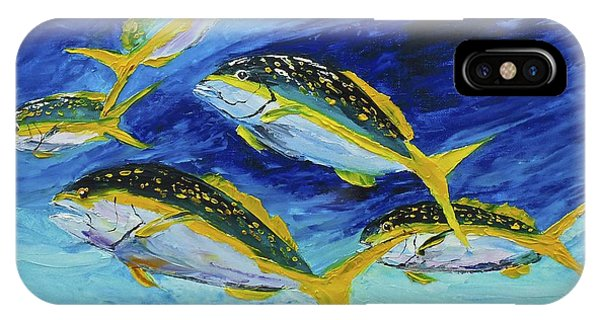 IPhone Case featuring the painting Florida Snapper by Kevin  Brown