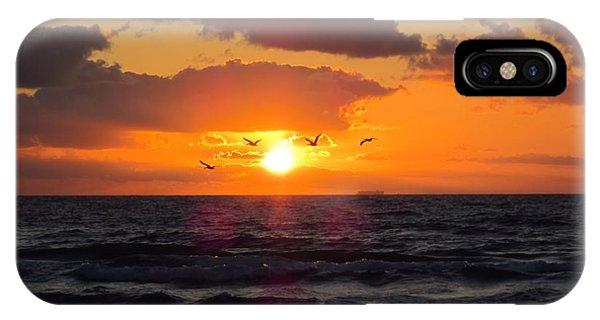 Florida Sunrise IPhone Case