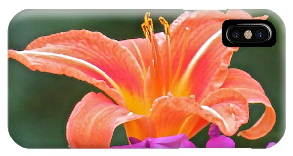 Flower 122 Phone Case by Patsy Pratt