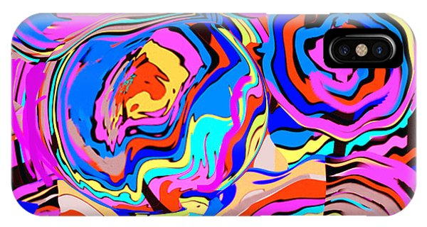 Abstract Art Painting #2 IPhone Case