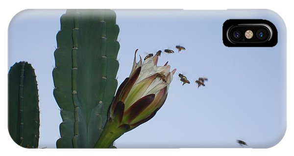 Flower And Bees IPhone Case