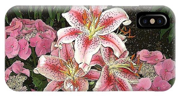 Flower Art01 IPhone Case