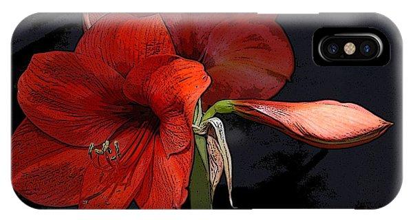 Flower Art02 IPhone Case