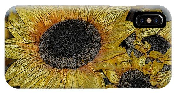 Flower Art04 IPhone Case