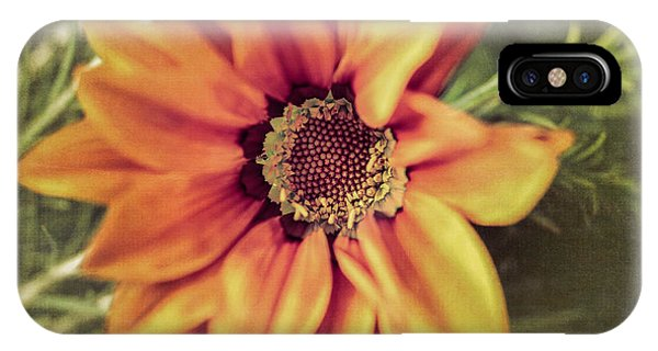 Close Focus Floral iPhone Case - Flower Beauty I by Marco Oliveira