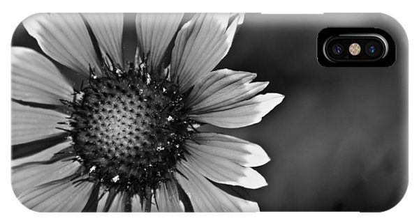 Flower Black And White #1 IPhone Case
