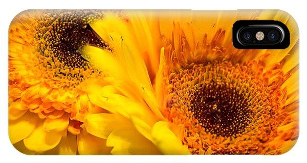 Flower Eyes IPhone Case