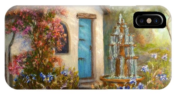 Flower Garden Paintings IPhone Case