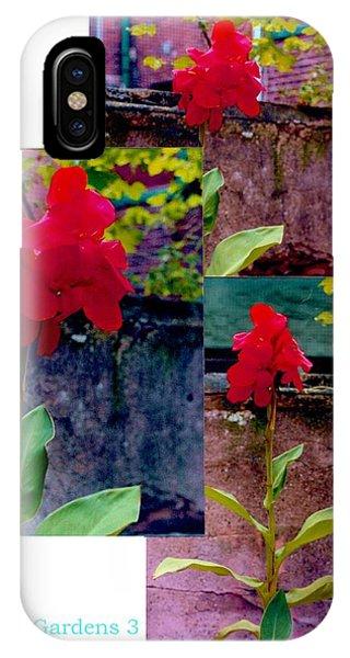 Flower Gardens C IPhone Case