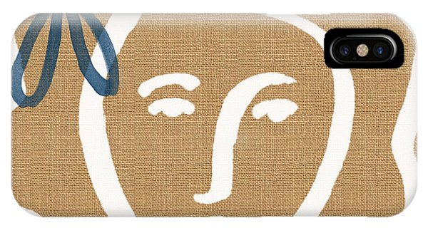 Portrait iPhone Case - Flower Girl by Linda Woods