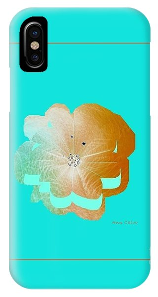 Flower Glow IPhone Case