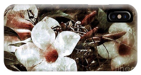 Flower Grunge IPhone Case