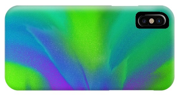 Flower In Bloom Stage 2 Abstract IPhone Case