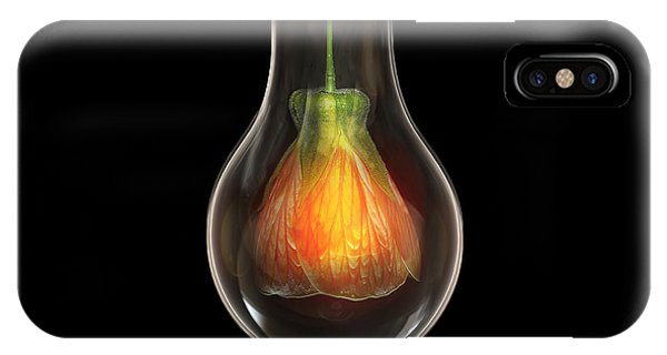 Flower In Bulb IPhone Case