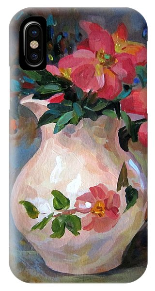 Flower In Vase IPhone Case