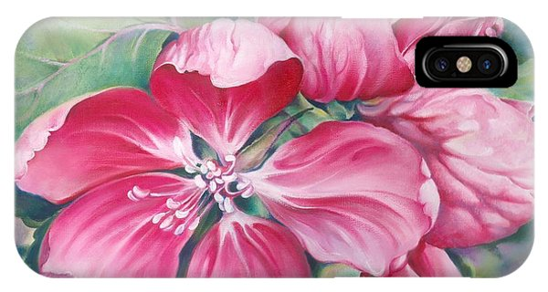 Flower Of Crab-apple IPhone Case