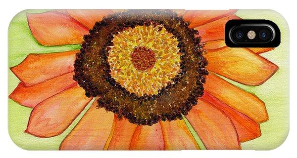 Flower Orange IPhone Case