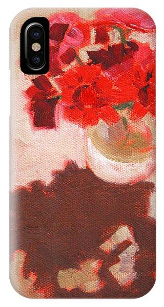 Flower Shadows Still Life IPhone Case