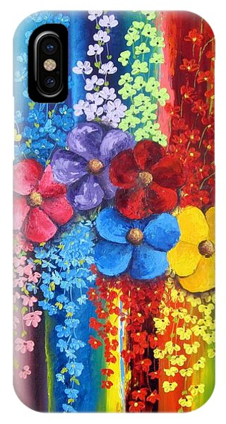 Flower Shower IPhone Case