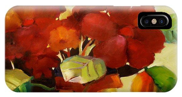 Flower Vase No. 3 IPhone Case
