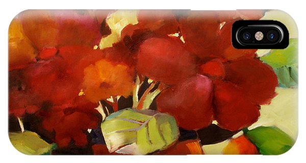 IPhone Case featuring the painting Flower Vase No. 3 by Michelle Abrams