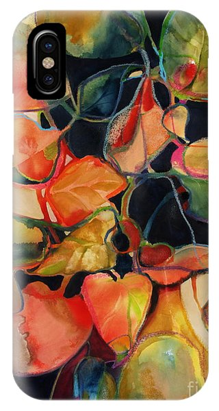 IPhone Case featuring the painting Flower Vase No. 5 by Michelle Abrams