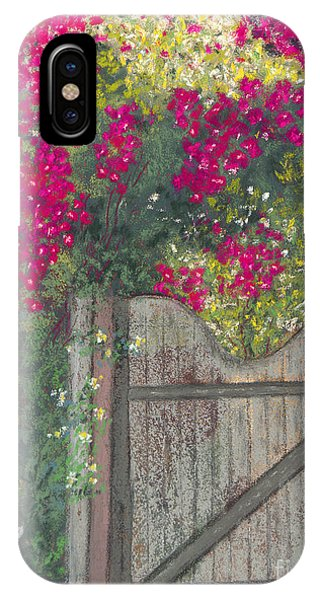 Gateway Arch iPhone Case - Flowering Gateway by Ginny Neece