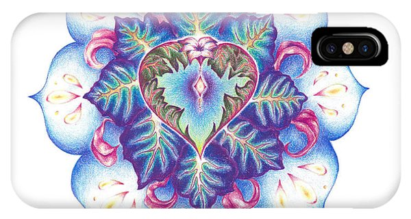 Flowering Of The Heart   Oneness Art Phone Case by Lydia Erickson