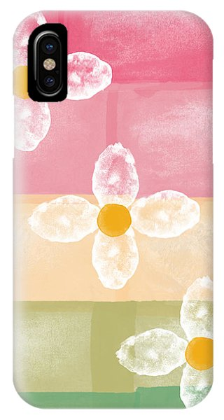 Contemporary Floral iPhone Case - Flowers by Aged Pixel