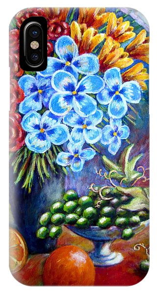 Flowers And Fruit  IPhone Case